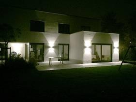Aussenbeleuchtung Fassade impressionen